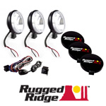 Halogen Lights by Rugged Ridge