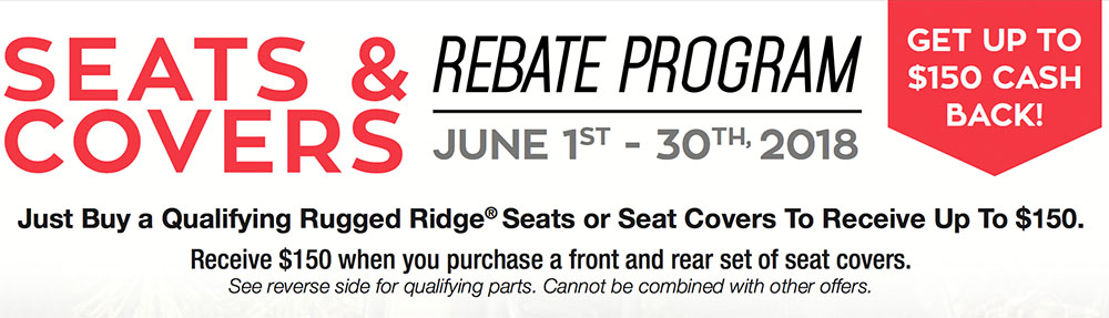 Rugged Ridge Mail-In Rebate Offer: Get Up To $200