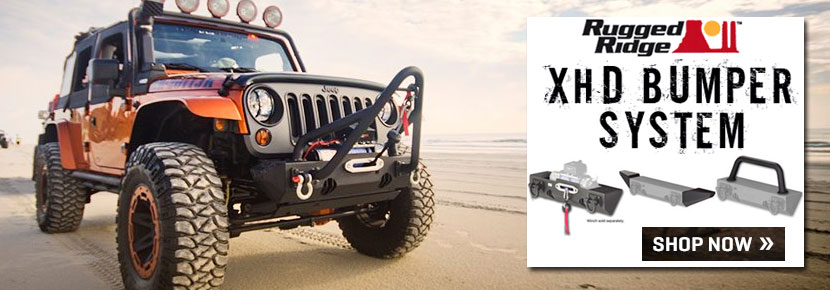 Rugged Ridge XHD Bumper System