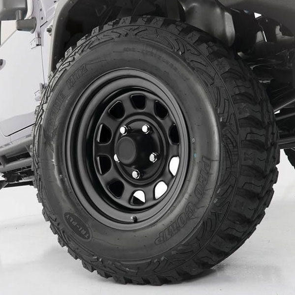 Trail Master TM5, 15x8 Wheel, 5 on 4.5, Flat Black