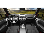 2011-17 Wrangler Interior Trim Charcoal