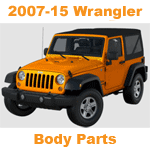 2007-UP Wrangler Body Parts