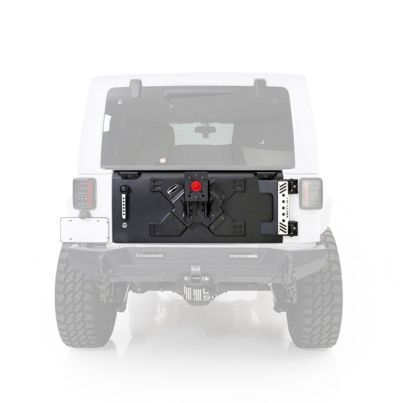 Jeep Wrangler JK Tailgate with Tire Carrier