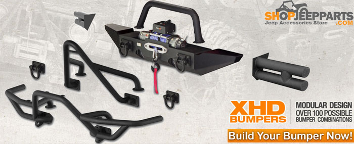 XHD Bumper Systems for CJ and Wranglers